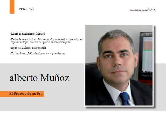 Alberto Muñoz Cabanes en la revista Traders Magazine