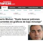 Finanzas.com: Entrevista a Alberto Muñoz