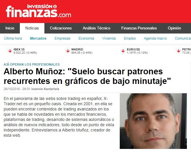 Alberto Muñoz Cabanes entrevistado en Finanzas.com
